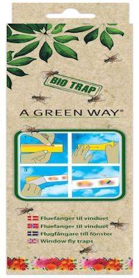 A Green Way Fluefanger til vinduet