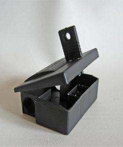 Giftstation i plast til mus